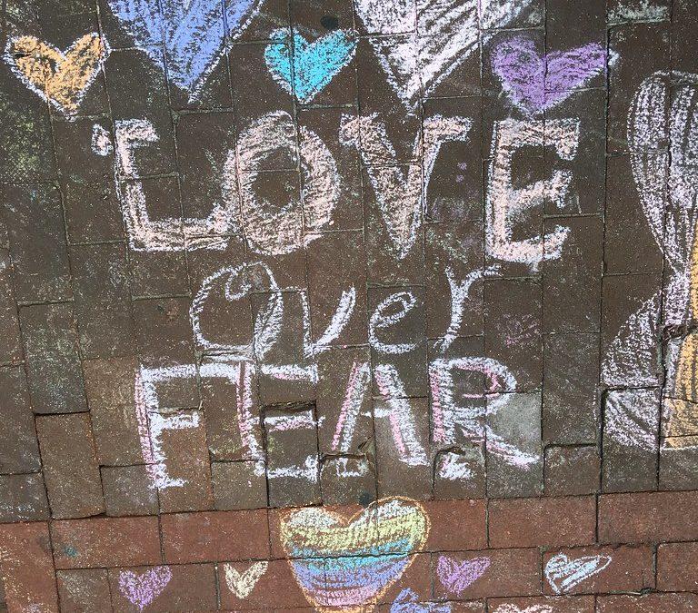 Befriend Your Fear.